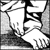 Ryuzaki: Him that makes shoes go barefoot himself