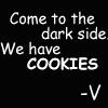 SW darth cookies