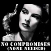 Kate: no compromises