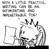 writing could be an intimidating and imp