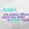 [mb] [quote] 'police officer says drink