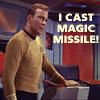 [trek] [ws] 'i cast magic missile'