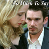 Before Sunset: So Much To Say