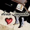 Happy Shiny Good Time Guy: dean <3 impala