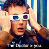 the doctor>you