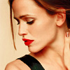 Pouncer: Jennifer Garner in profile