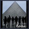 paris - louvre - home
