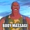 GI Joe/Roadblock - Body Massage