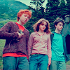 Maria: harry hermione ron