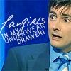 Lauren: DT - Fangirls in my Underwear Drawer