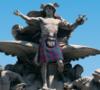 tartan statue