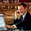 magistrate: sudo -u god