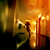 running in hallway