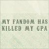 fandom killed the gpa star