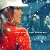 GG Lorelai red coat white hat