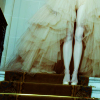 Poufy white dress