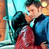 Dr Who - TLOTTL Martha cheek kiss