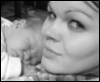 Miss Mya: chloe and i 1 -sleeping on mommy-
