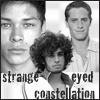 Strange-Eyed Constellation trio by me