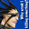 Kenpachi - killing something?
