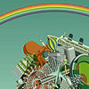 one ill-considered joke away from disaster: katamari rainbow
