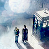 dw; ten, rose & tardis