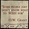 o.w. grant