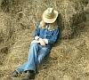 lazy cowboy