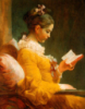 art: the reader - fragonard