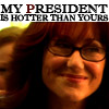 Mary McDonnell: my president