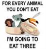 vegan gotcha