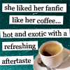 Carrie Leigh: coffee like fanfic