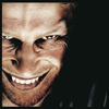 evil smile, aphex twin