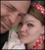 Miss Mya: Dave and I chocolate beach 2007