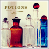 potions are the only magic