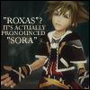 KH; Roxas? Wtf - its SORA kthx!