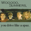 Buffy - drive like a spaz