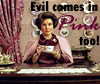 evil pink