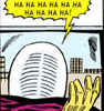 Some Frightening Dingbat: comics: Mysterio laughs at nothing