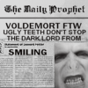 randomposting: voldy smiling