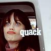 Elodie.: Zooey ~ quackquack!