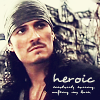 Maria: Orlando Bloom PoTC heroic Will