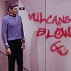 Spock grafitti, Vulcans blow [_tayler]