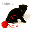 cat helping by fluidic_icons
