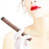 с сигарой