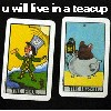u will live in a teacup