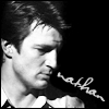 Nathan Fillion in B/W
