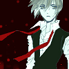 Azzy Boy Red Tie