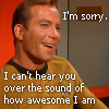 Kirk awesome