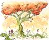 tree, kiwi